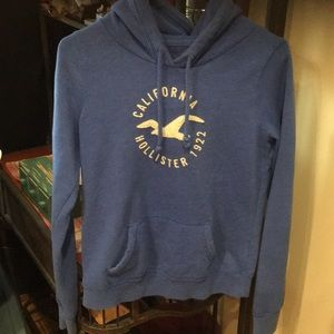 Women's Hollister hoodie size medium euc royal